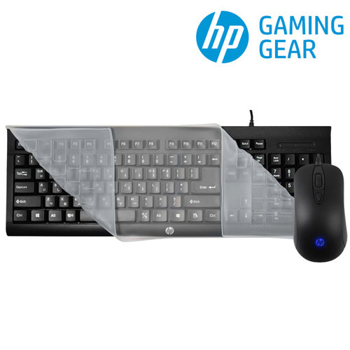 HP KM100 Keyboard Mouse Combo 키스킨포함